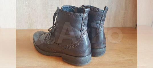 Кожанные ботинки купить в Калининградской области   Личные вещи   Авито