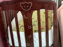 Детская кроватка с ящиком — Товары для детей и игрушки в Геленджике