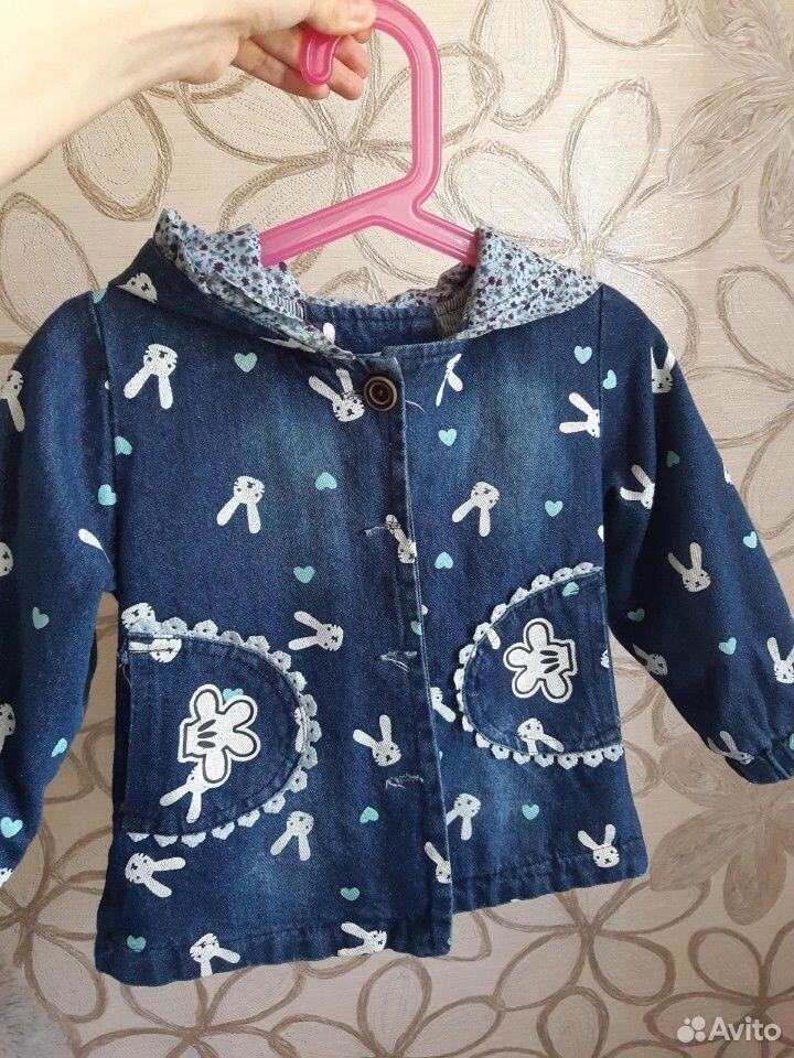 Джинсовая курточка на девочку  89236219223 купить 2
