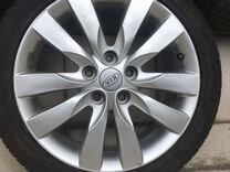 Комплект оригинальных колес kia шины+диски