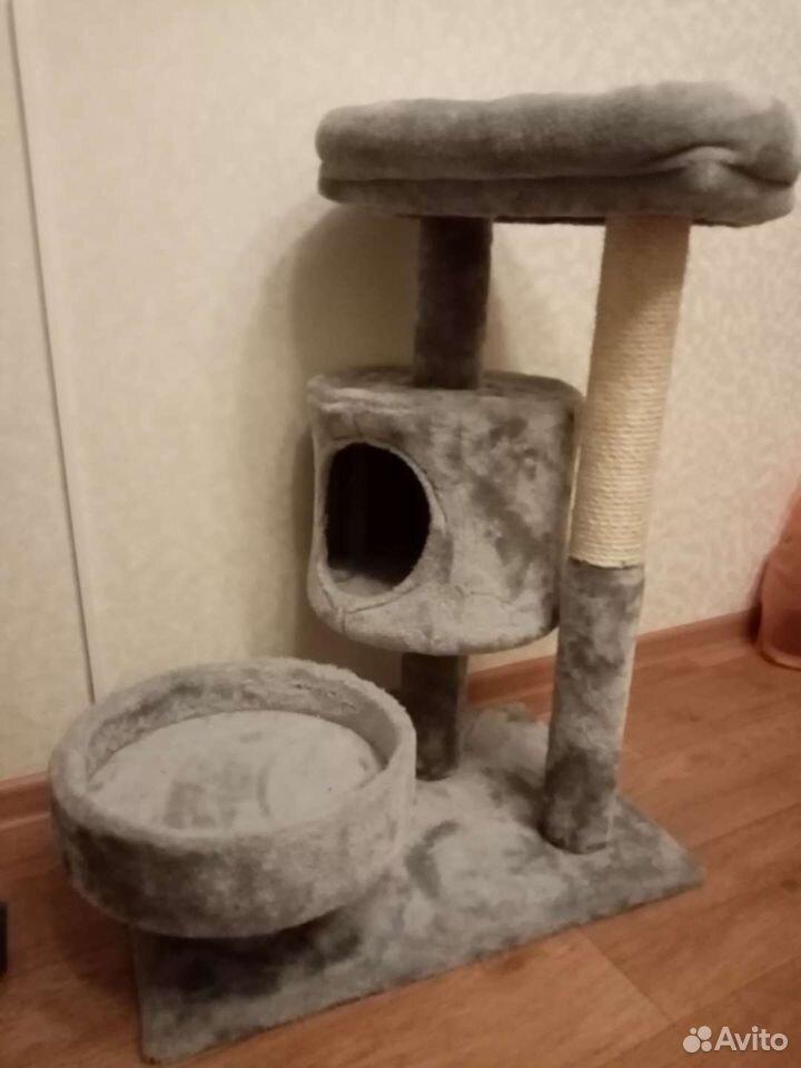 Когтеточка домик для кошки  89273961377 купить 2