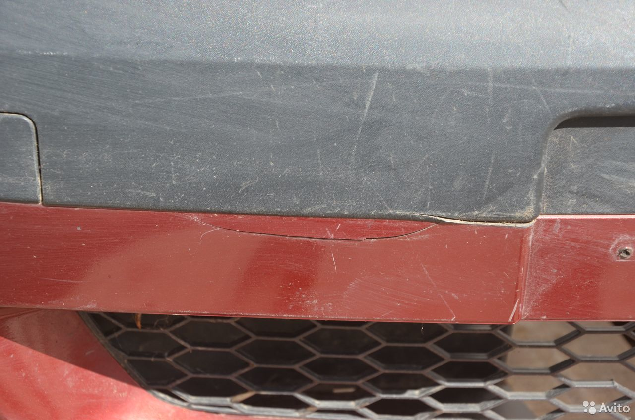 Бампер передний Renault Logan Фаза 1  89273200102 купить 3