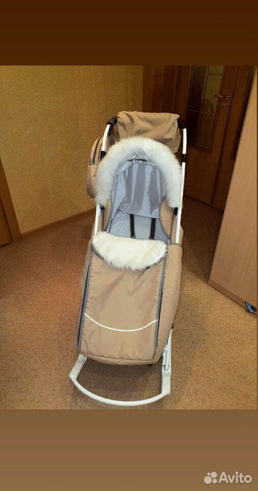 Санки-коляска Pikate  89224306600 купить 2