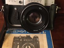 Фотоаппараты Зенит ттл, Киев-4, видеокамера Sharp