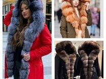 Парка женская с натуральным мехом зимняя — Одежда, обувь, аксессуары в Санкт-Петербурге