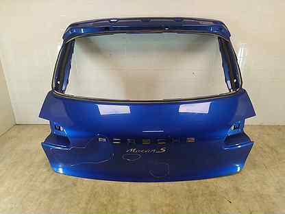 Крышка багажника задняя Porsche Macan 95B 2014