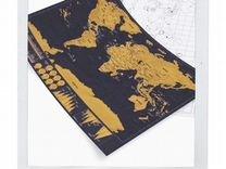 Скретч-карта мира