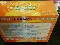 10 штук CD-RW princo