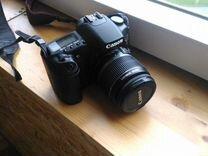 Canon EOS 30d с объективом,полный комплект