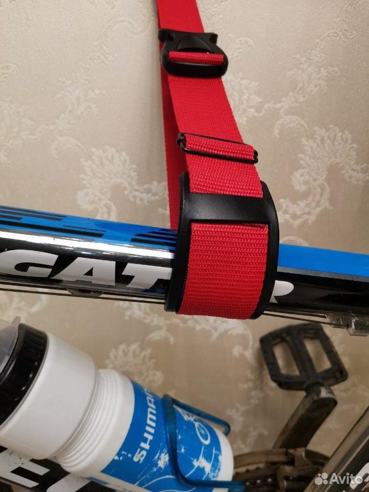 Крепление для велосипеда на стене за раму