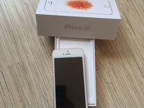 iPhone SE новый, был в использовании одну неделю