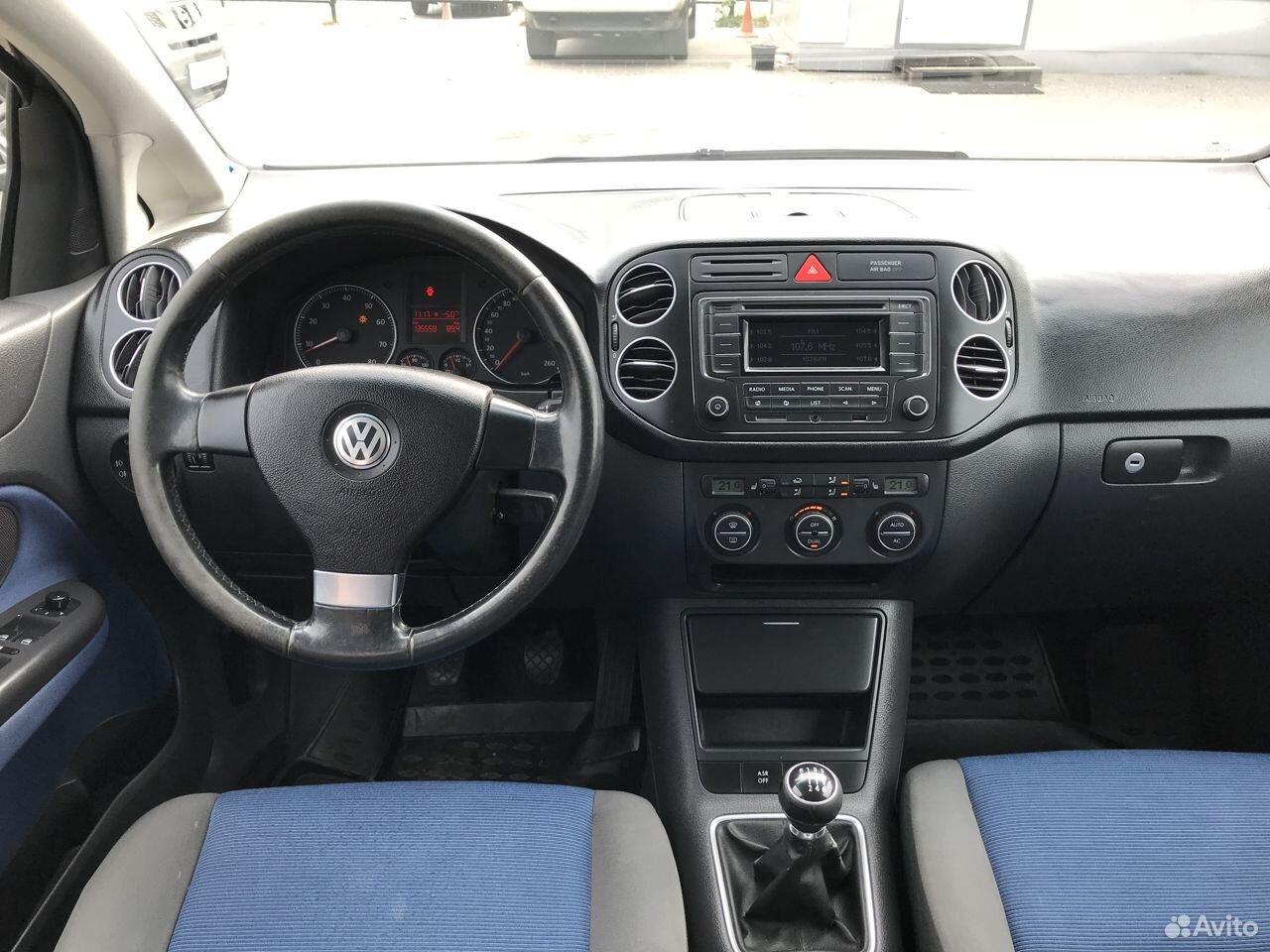 Volkswagen Golf Plus, 2007  89677563337 купить 6