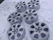 6 штук диски р18 ауди оригинал