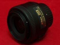 Nikon 35mm f/1.8G AF-S DX Nikkor (гарантия, чек)