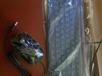 Клавиатура + мышь HP новые